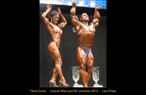 Mr e Miss Universo 2013 Lee Priest e Flora Conte