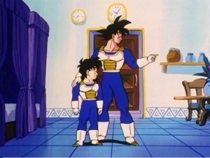 stanza speciale del tempo, Goku