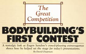 the first competition
