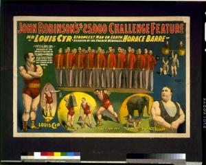Louis Cyr pubblicità 1