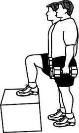 Dumbell step