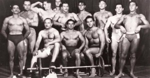 Brazilian gym. 1950